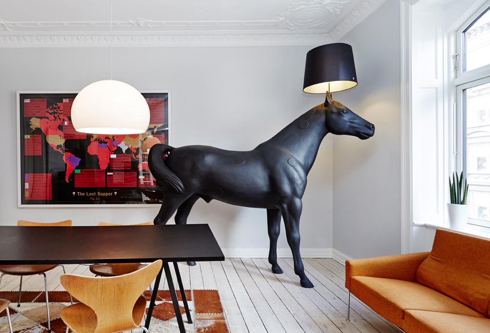 Торшер Moooi Horse Lamp