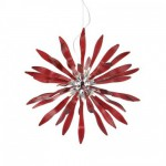 Ideal lux Corallo SP12 rosso