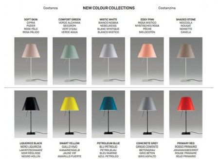 Luceplan Цветовая гамма