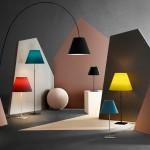 Luceplan коллекция светильников в новых цветах