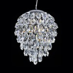 Crystal lux CHARME SP2+2 LED CROMO CRYSTAL