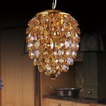Crystal lux CHARME SP2+2 LED ORO AMBRA